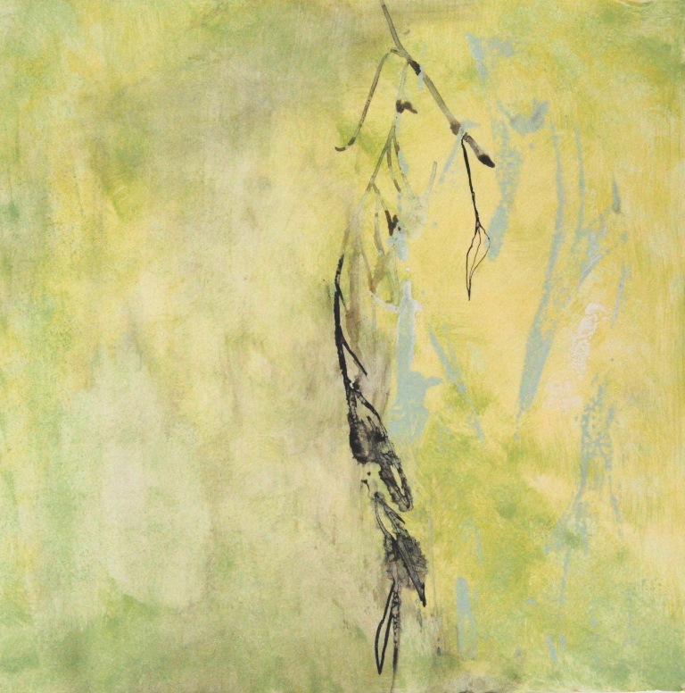 Weeping Willow 10 Mixed technique on paper 37x37 cm 2015
