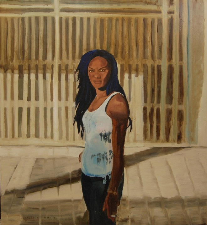 Esther Oil on canvas 130x140 cm 2018